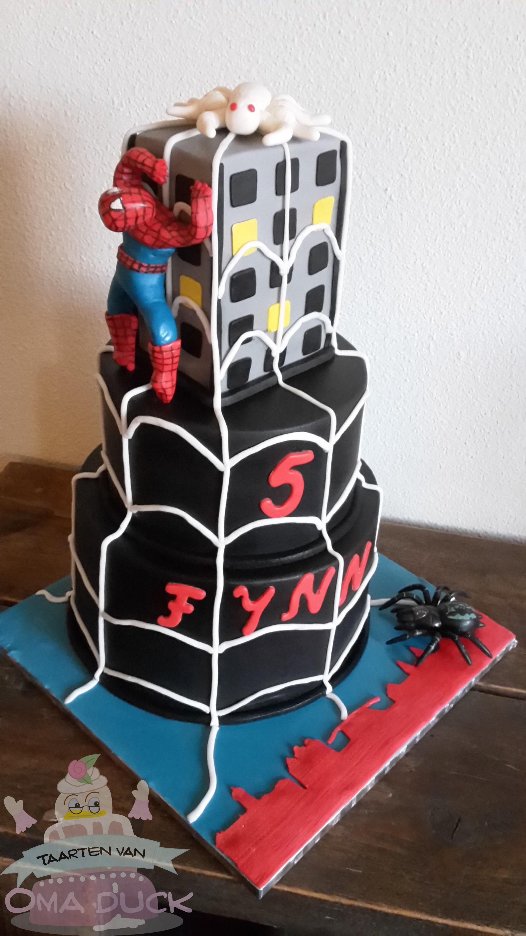 Iets Nieuws Spiderman of Buurman en Buurman…. | De lekkerste taarten van &WS84